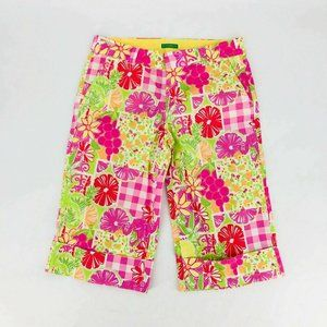 Lilly Pulitzer Pants Women 4 Palm Beach Fit Crop T